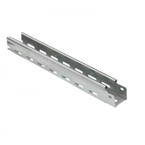 Лоток листовой перфорированный 50х50 L3000 сталь 1мм оцинк. ИЭК CLP10-050-050-100-3