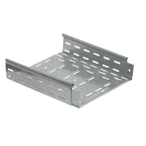 Лоток листовой перфорированный 400х50 L2000 сталь 1мм HDZ ИЭК CLP10-050-400-2-M-HDZ
