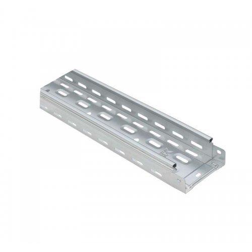 Лоток листовой перфорированный 100х50 L2000 сталь 0.7мм HDZ ИЭК CLP10-050-100-2-M-HDZ