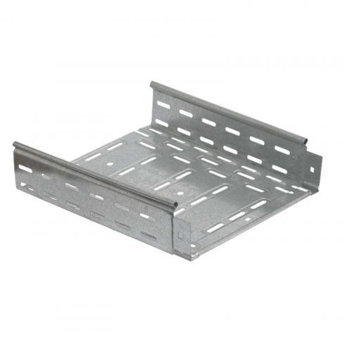 Лоток листовой перфорированный 400х50 L3000 сталь 1.2мм HDZ ИЭК CLP10-050-400-120-3-M-HDZ
