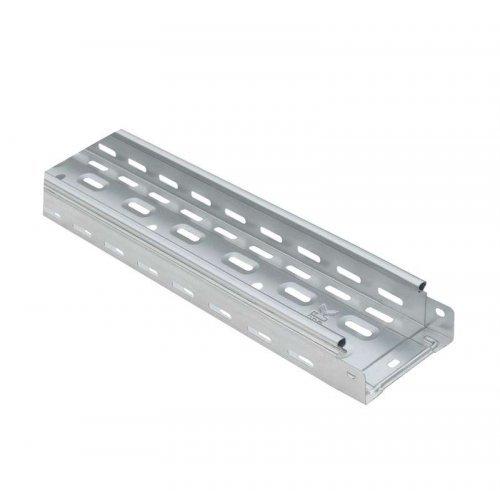 Лоток листовой перфорированный 100х50 L3000 сталь 0.5мм ИЭК CLP10-050-100-055-3