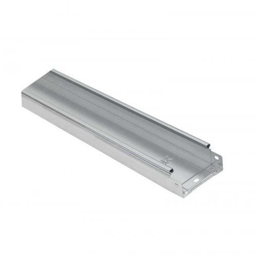 Лоток листовой неперфорированный 100х50 L3000 сталь 1мм HDZ ИЭК CLN10-050-100-100-3-M-HDZ