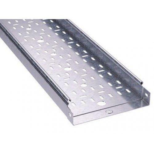 Лоток листовой перфорированный 100х50 L3000 сталь 1мм цинк-ламель DKC 3526210ZL