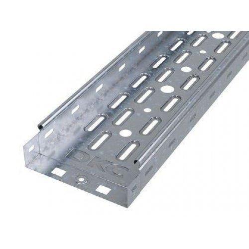 Лоток листовой перфорированный 100х50 L3000 сталь 0.7мм цинк-ламель DKC 35262ZL
