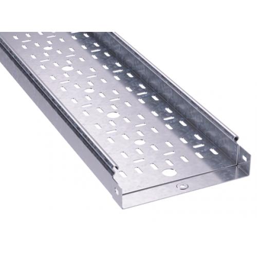 Лоток листовой перфорированный 100х50 L3000 сталь 1.2мм DKC 3526212