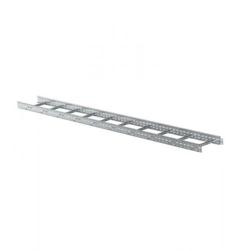 Лоток лестничный 400х100 L3000 сталь 1.2мм ИЭК LLK1-100-400