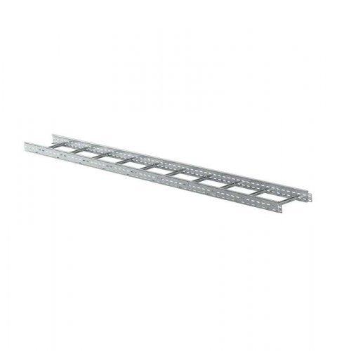 Лоток лестничный 600х100 L3000 сталь 1.2мм ИЭК LLK1-100-600