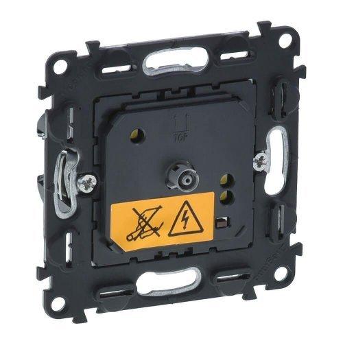Термостат комнатный электронный Valena In'matic 5-30град.C 8А 230В винт. зажимы Leg 752033