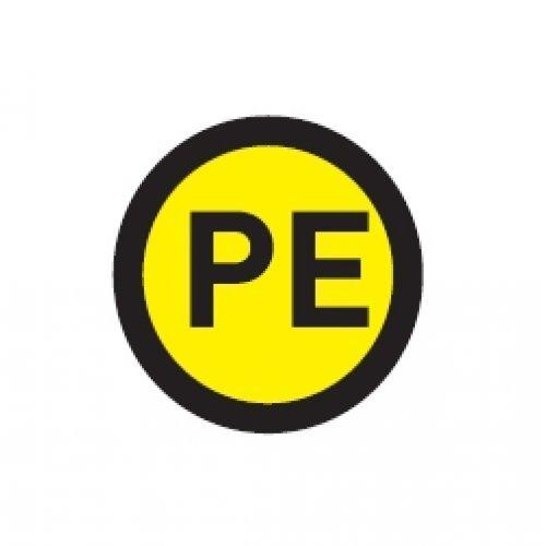 Наклейка PE круглая d=20мм