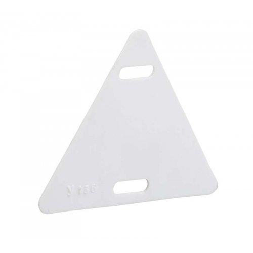 Бирка кабельная маркировочная У-136 55х55х55мм (треугольник) ИЭК UZMA-BIK-Y136-T