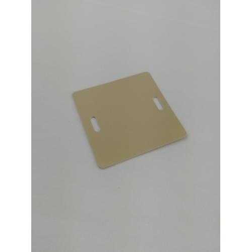 Бирка маркировочная мягкая У-134М (большой квадрат) (уп.100шт) PROxima EKF mm-134-bs