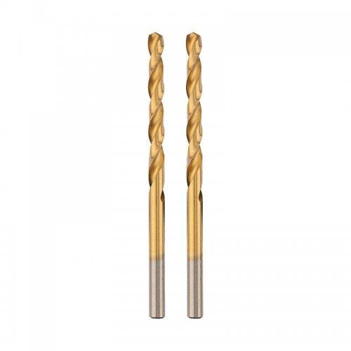 """Сверло по металлу 2.5мм """"Стандарт+"""" (P6M5 M-2) (уп.2шт) DIN 338 Rexant 91-0522"""