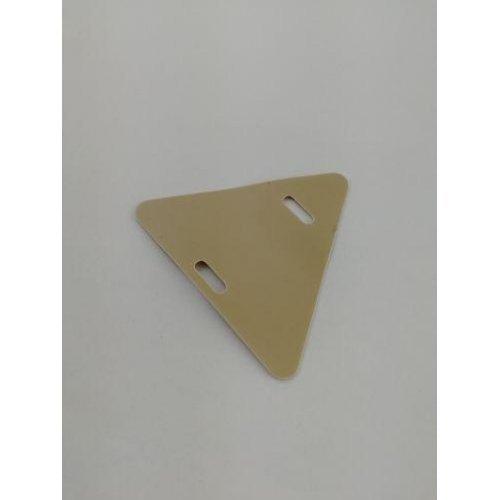 Бирка маркировочная мягкая У-136М (треугольник) (уп.100шт) PROxima EKF mm-136-t