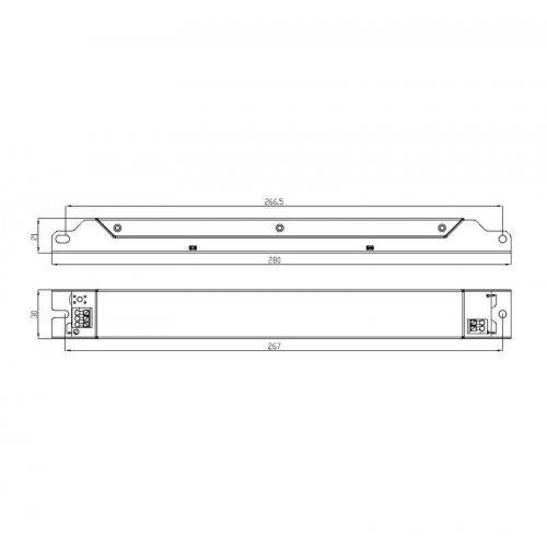 Драйвер ИПС50-350Т ЭКО 0110 (0111) IP20 Аргос
