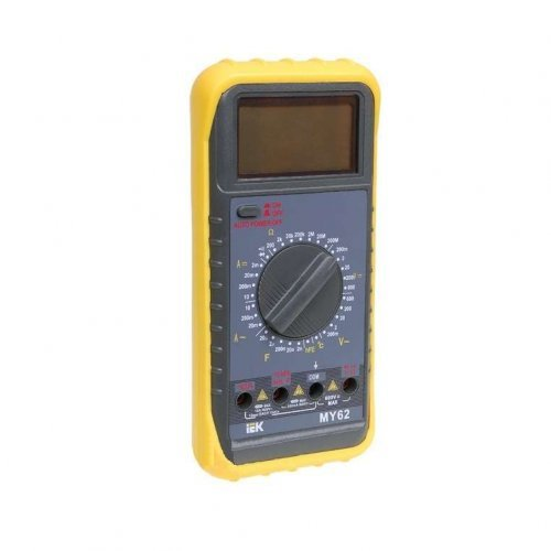 Мультиметр цифровой Professional MY63 ИЭК TMD-5S-063