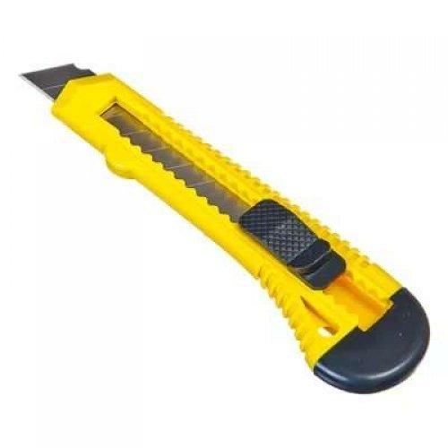 Нож с сегмент. лезвием 18мм пласт. корпус REXANT 12-4903