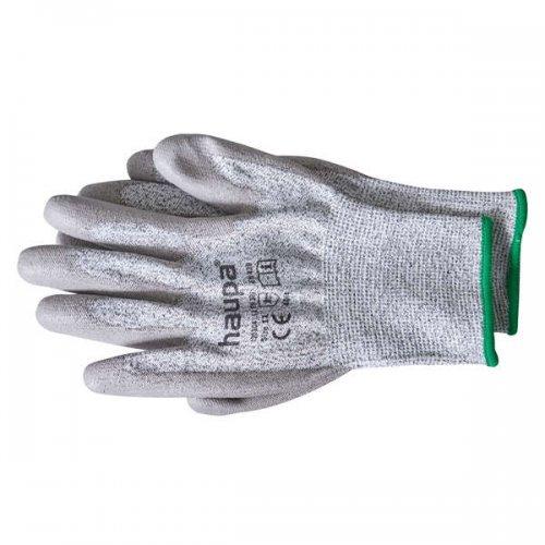 Перчатки с полиуретановым покрытием 5 степень защ. размер 9 сер. (пара) HAUPA 120304/9