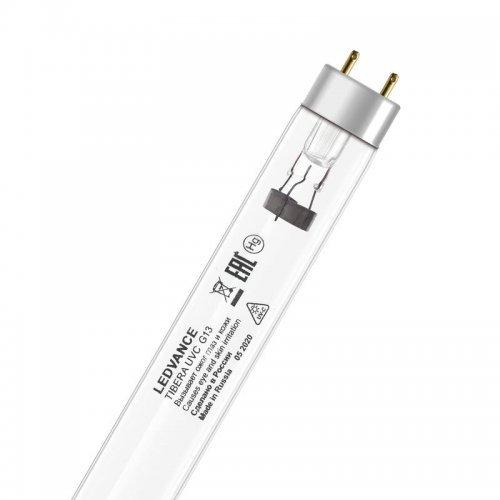 Лампа бактерицидная с УФ-С излучением TIBERA UVC T8 15W G13 LEDVANCE 4058075499201