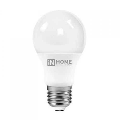Лампа светодиодная LED-A60-VC 10Вт 230В E27 4000К 900Лм IN HOME 4690612020211