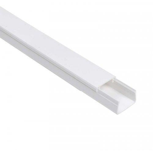 Кабель-канал 20х10 L2000 пластик ECOLINE ИЭК CKK11-020-010-1-K01