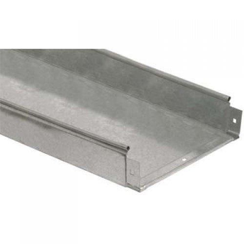 Лоток листовой неперфорированный 150х50 L3000 сталь 0.7мм ИЭК CLN10-050-150-3