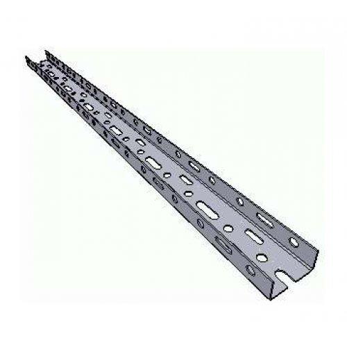 Лоток листовой перфорированный 100х24 L2000 сталь 1.2мм НЛ-10П1.87 цУТ2.5 оцинк. СОЭМИ 112112321