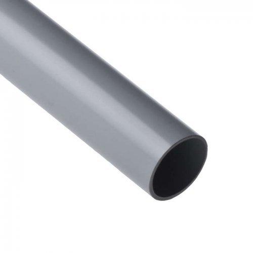 Труба ПВХ гладкая жесткая d40мм (л) (дл.3м) Рувинил 54000(3)