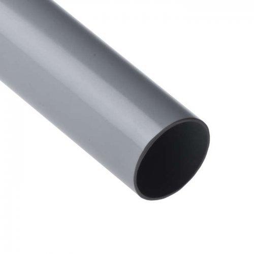 Труба ПВХ гладкая жесткая d50мм (л) (дл.3м) Рувинил 55000(3)