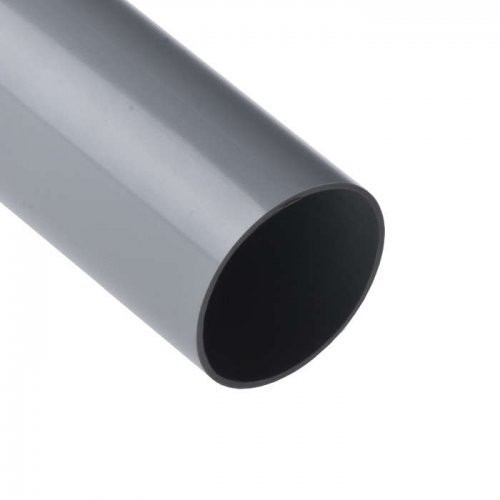 Труба ПВХ гладкая жесткая d63мм (л) (дл.3м) Рувинил 56300(3)