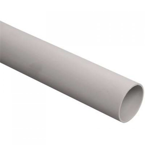 Труба гладкая жесткая ПВХ d50мм (дл.3м) ИЭК CTR10-050-K41-015I