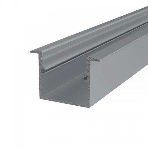 Профиль врезной алюминиевый 3725-2 2м Rexant 146-223