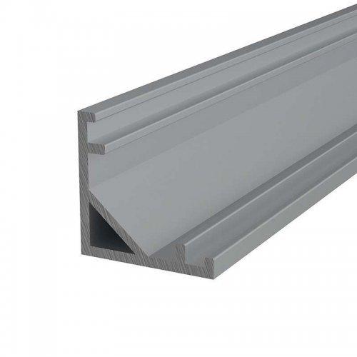 Профиль угловой алюминиевый 1616-2 2м Rexant 146-231