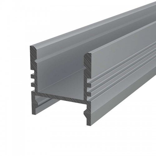 Профиль накладной алюминиевый 1617-S-2 2м Rexant 146-203