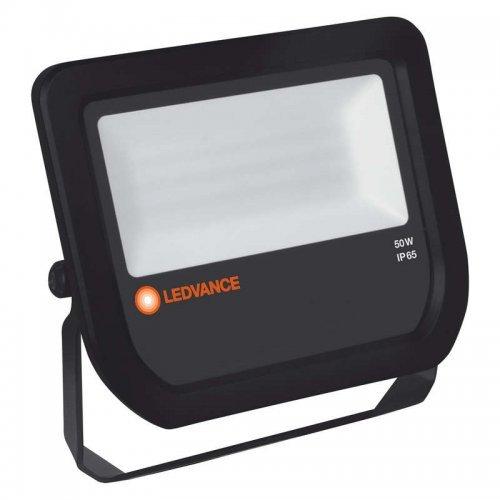 Прожектор FLOODLIGHT 50W/3000К LED 50Вт IP65 3000К черн. OSRAM 4058075097568