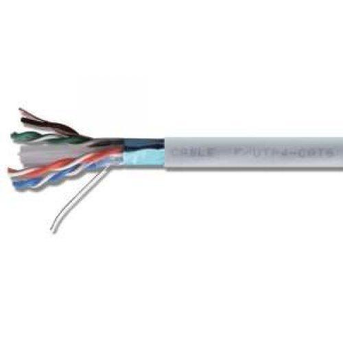 Кабель FTP 1х2х24AWG кат.5е медь бухта (м) Rexant 01-0120