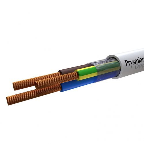 Провод ПВС 3х2.5 Б ПЭТ-ПЛЕНКА (бухта) (м) РЭК-PRYSMIAN 2503050201