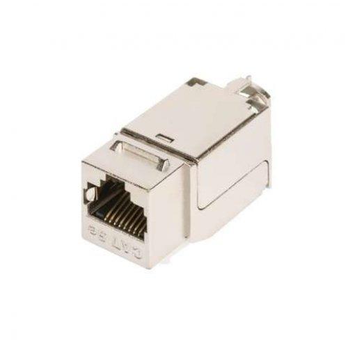 Модуль-вставка Keystone кат.6 (класс E) 250МГц RJ45/8P8C FT-TOOL/110/KRONE T568A/B полный экран метал. NIKOMAX NMC-KJSE2-FT-MT