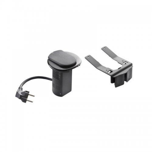 Органайзер настол. для 2К+З+USBcharg. черн. Leg 054086