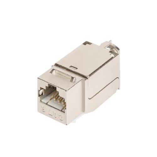 Модуль-вставка Keystone кат.6a (класс Ea) 500МГц RJ45/8P8C FT-TOOL/110/KRONE T568A/B полный экран метал. NIKOMAX NMC-KJSA2-FT-MT