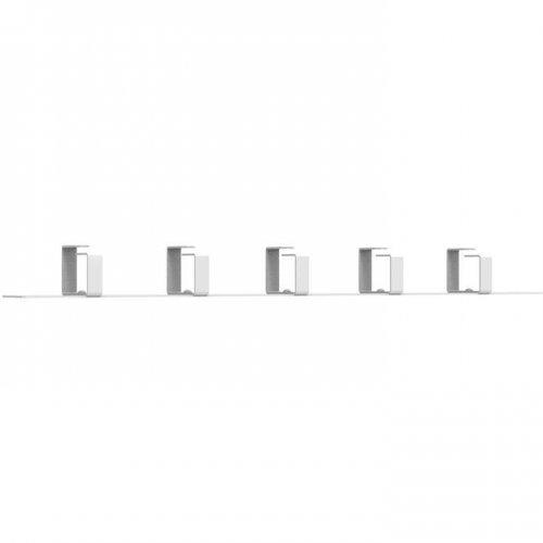 Органайзер кабельный 1U 5 колец PROxima EKF ITACO5