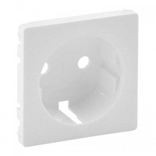 Панель лицевая Valena Life для розетки 2К+З бел. Leg 755200