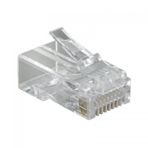Разъем RJ45 медный 6 UTP обжимной (уп.100шт) SchE ACTPG6PTU100