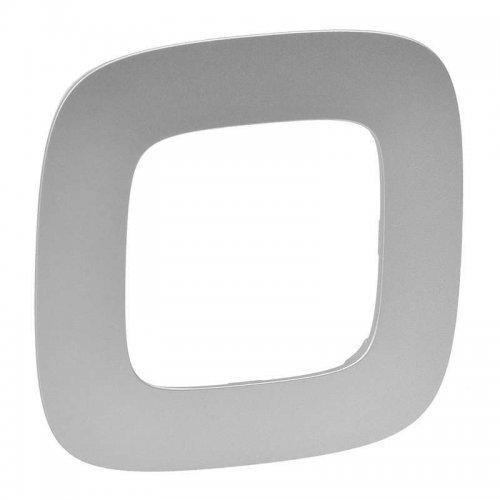 Рамка 1-м Valena Allure универсальная алюм. Leg 754391
