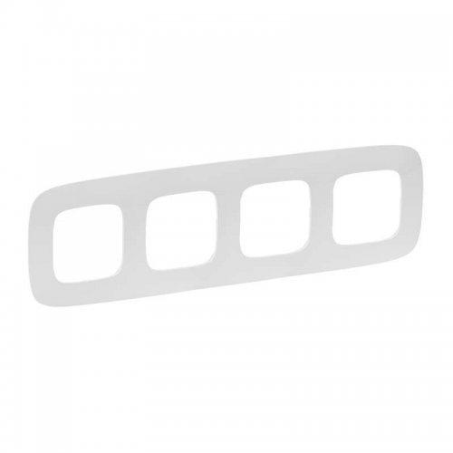 Рамка 4-м Valena Allure универсальная бел. Leg 754304