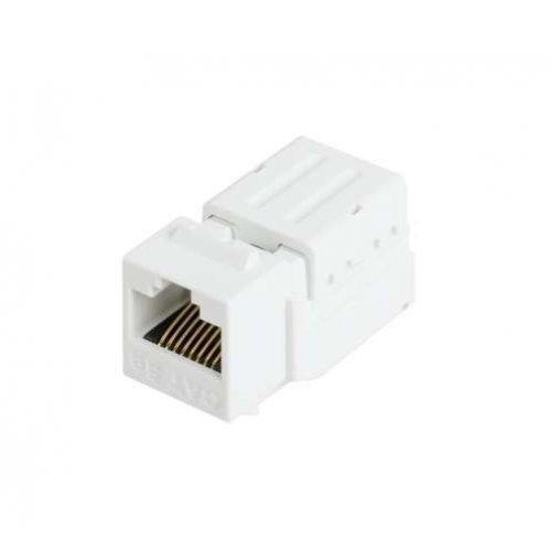 Модуль-вставка Keystone кат.5e (класс D) 100МГц RJ45/8P8C FT-TOOL/110/KRONE T568A/B неэкран. бел. NIKOMAX NMC-KJUD2-FT-WT