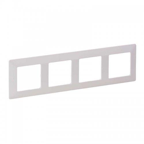 Рамка 4-м Valena Life универсальная бел. Leg 754004