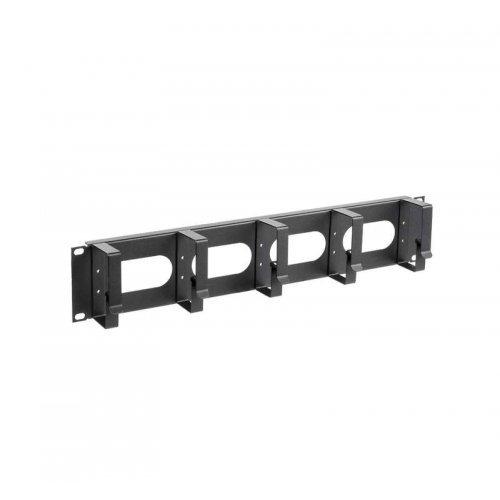 Органайзер кабельный 19 дюйм 2U 5 колец черн. ITK CO05-2M5RM