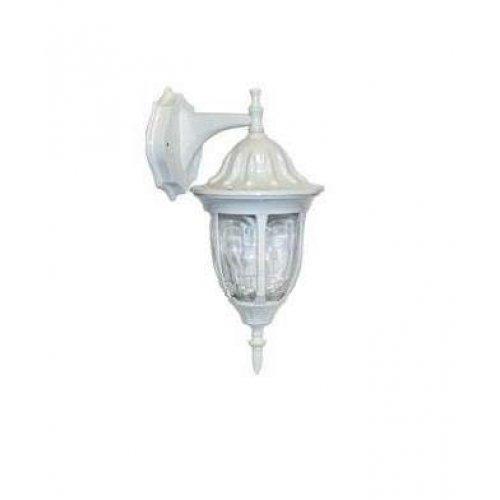 Светильник 4502 (НБУ 60Вт) 60Вт E27 IP43 улично-садовый бел. Camelion 10528