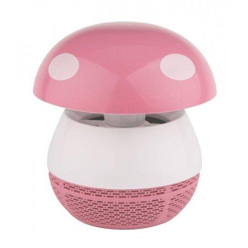 Лампа противомоскитная ERAMF-03 ультрафиолетовая роз. ЭРА Б0038600