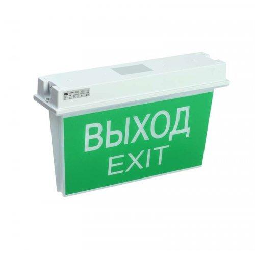 Светильник светодиодный ССА 5043-1 1ч 24м IP65 аварийный универс. подкл. ИЭК LSSA0-5043-1-65-K03
